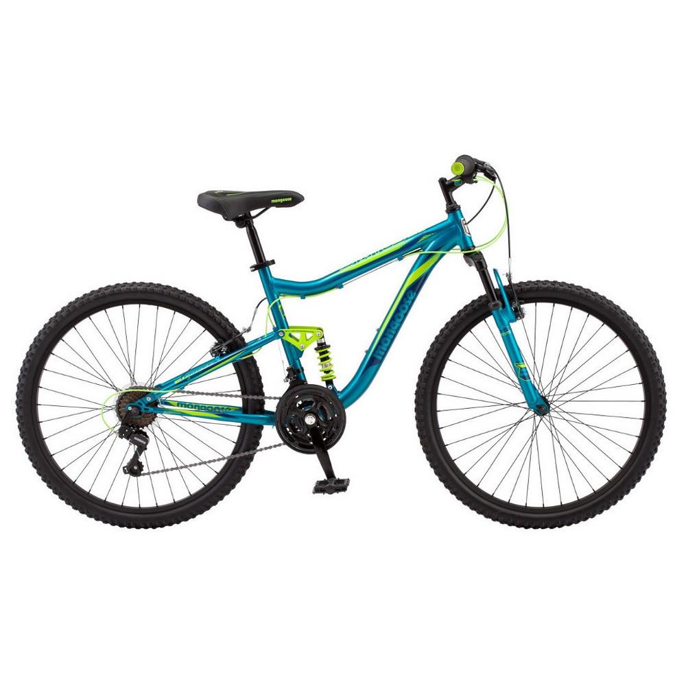 Mongoose Women's Status 2.2 26 Mountain Bike - Blue Teal