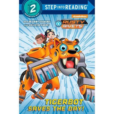 Tigerbot Saves the Day! (Rusty Rivets) - (Step Into Reading) by  Kristen L Depken (Paperback)