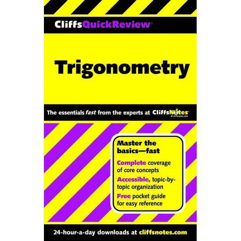 Trigonometry - (Cliffs Quick Review (Paperback)) by  David A Kay (Paperback) - image 1 of 1