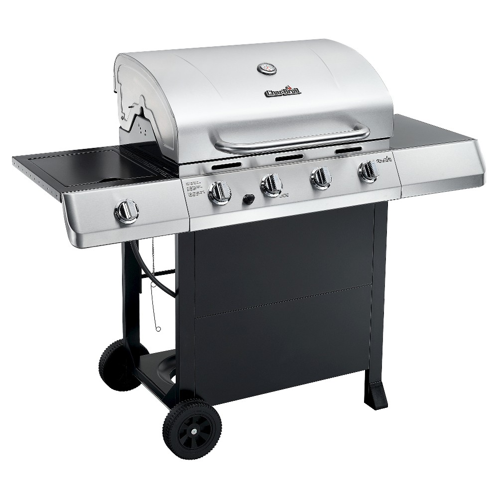 Char-Broil Classic 4-Burner Gas Grill, Silver