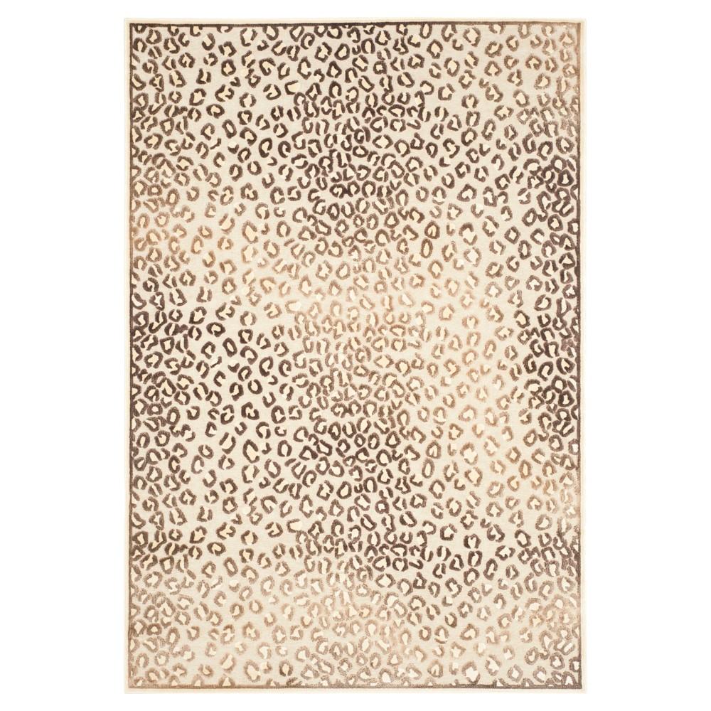 Cila Area Rug - Cream/Gold (Ivory/Gold) (5' 3