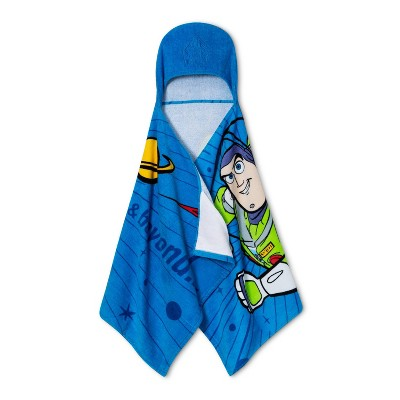 Disney Toy Story Buzz Lightyear Hooded Towel