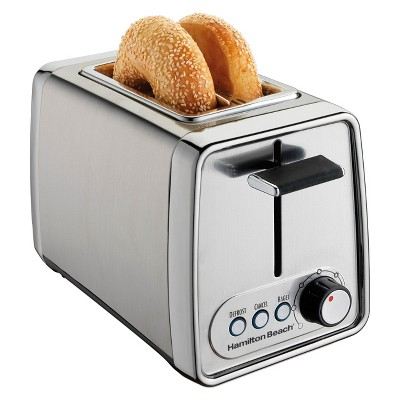 Hamilton Beach Modern Chrome 2-Slice Toaster- 22791