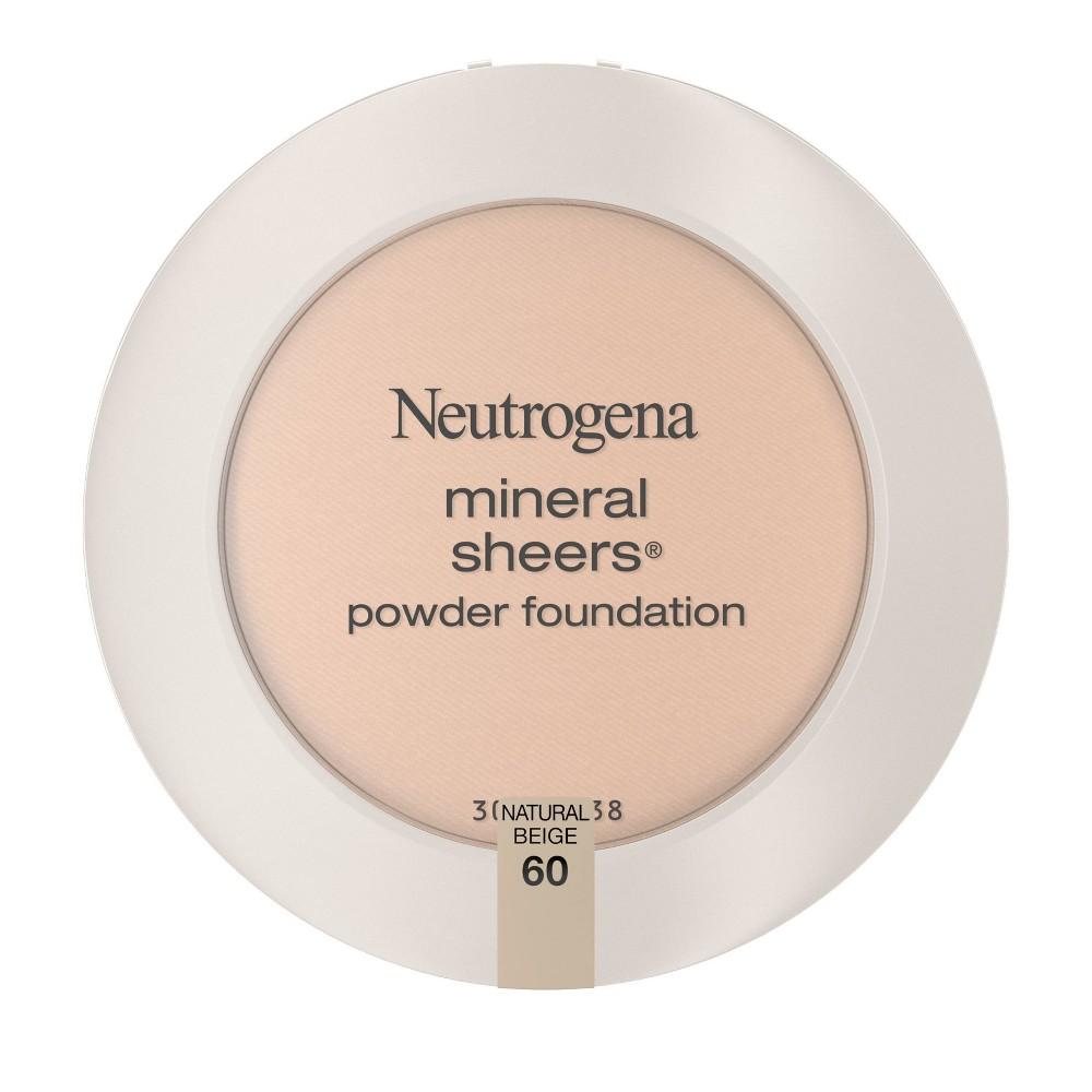Neutrogena Mineral Sheers Compact Pressed Powder 60 Natural Beige