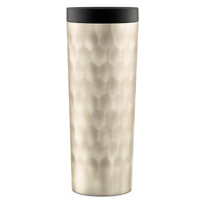 Ello Hammertime 18oz Stainless Steel Travel Mug Champagne