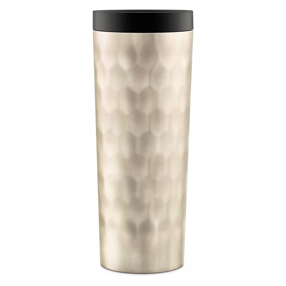 Image of Ello Hammertime 18oz Stainless Steel Travel Mug Champagne (Beige)