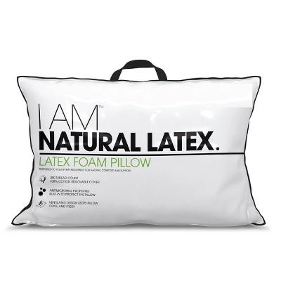 I AM Natural Latex Foam Pillow - Standard/Queen