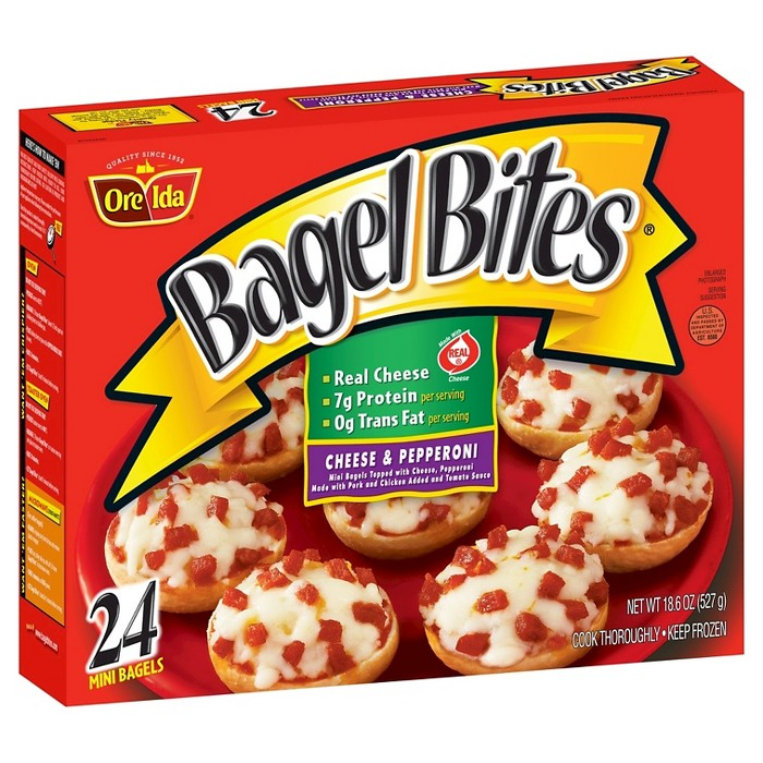 Bagel Bites Cheese & Pepperoni Frozen Pizza - 24ct/18.6oz - image 1 of 1
