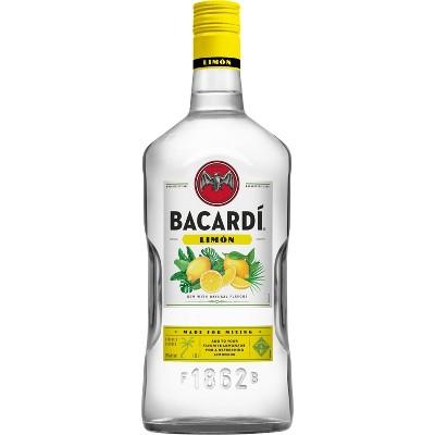 Bacardi Limon Citrus Flavored Rum - 1.75L Bottle