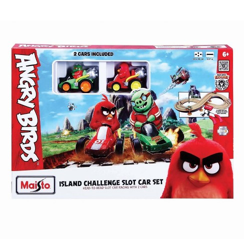 Angry Birds Island Challenge Slot Car Set - image 1 of 3