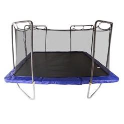 Skywalker Trampolines 15 Foot Square Trampoline and Enclosure - Blue, Adult Unisex