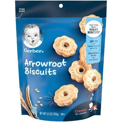 Gerber Arrowroot Cookies- 5.5oz