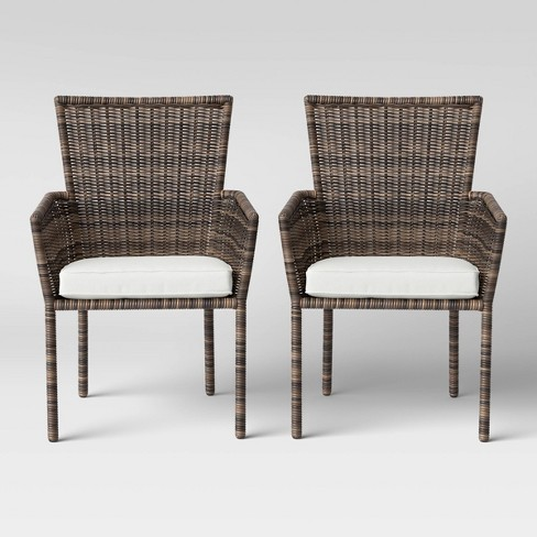 Monroe 2pk Patio Stack Dining Chair, Outdoor Chairs Target