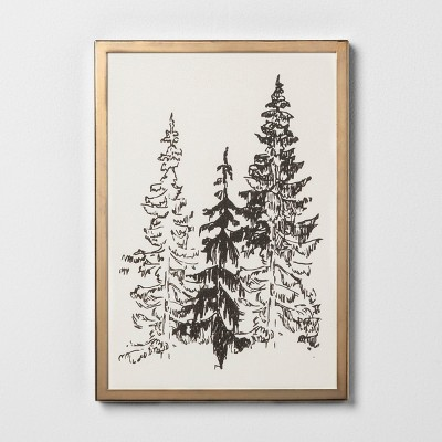 Framed Art Trees 8x11'' - Hearth & Hand™ with Magnolia