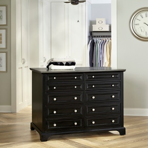 Bedford Closet Island - Black - Home Styles - image 1 of 3