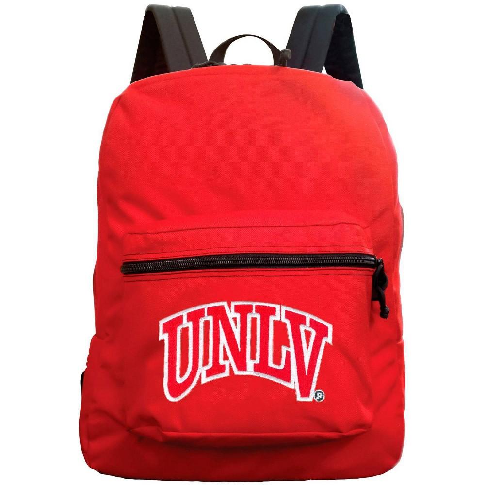 Ncaa Unlv Rebels Red Premium Backpack