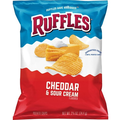 Ruffles Cheddar & Sour Cream Potato Chips - 2.87oz - image 1 of 3