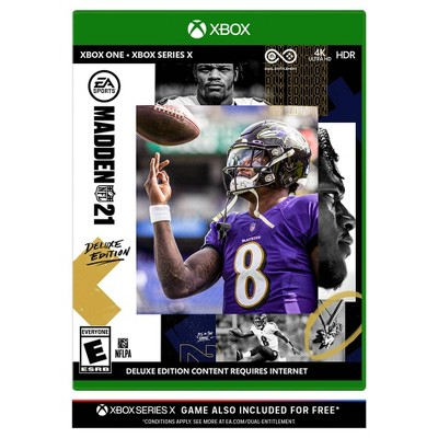 Madden NFL 21: Deluxe Edition - Xbox One/Series X