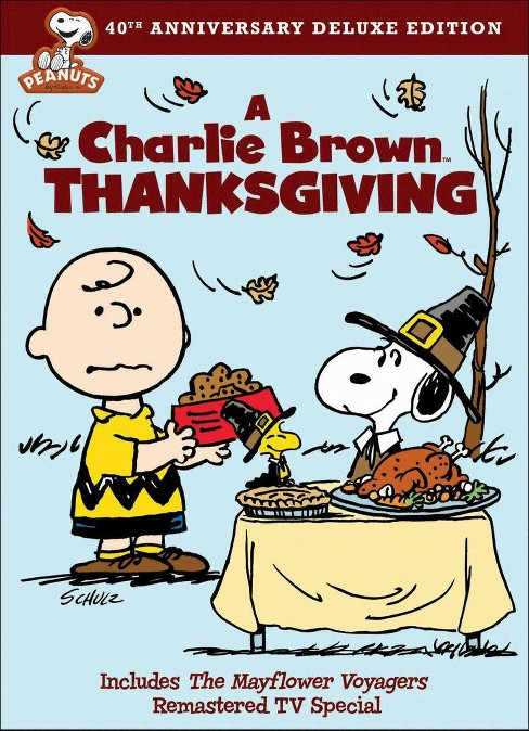 A Charlie Brown Thanksgiving (40th Anniversary) (dvd_video) - image 1 of 1