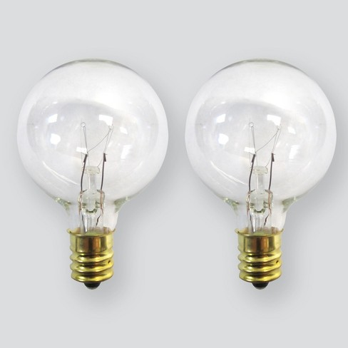 2pk Replacement Bulbs G40 Clear - Room Essentials™ - image 1 of 1