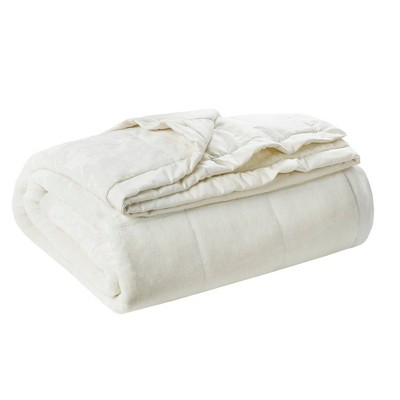 Full/Queen Coleman Reversible Down Alternative Bed Blanket Ivory