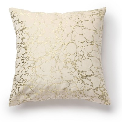 """20""""x20"""" Oversize Shattered Square Throw Pillow Taupe - Sure Fit"""