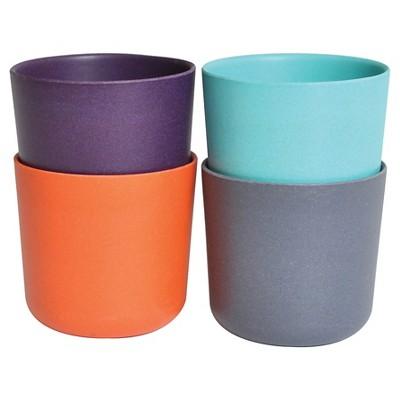 Biobu by Ekobo Bambino 8oz Cups - Set of 4