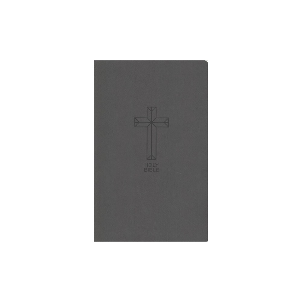 Holy Bible : New King James Version, Value Thinline, Charcoal Leathersoft, Black, Red Letter Edition