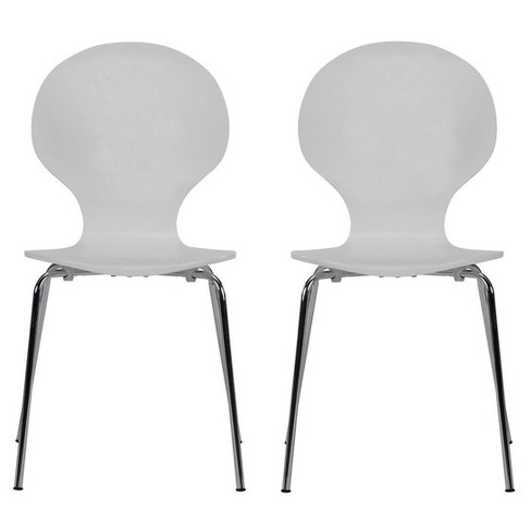 Bentwood Shell Dining Chair (Set Of 2) - Dorel Home Products - image 1 of 6