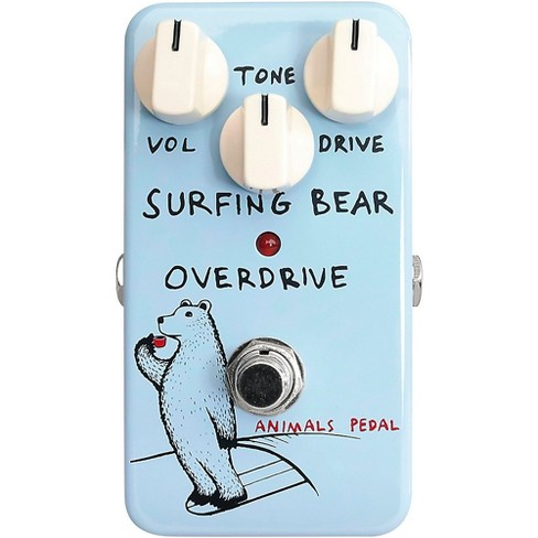 Animals Pedal Surfing Bear Overdrive Effects Pedal - image 1 of 3