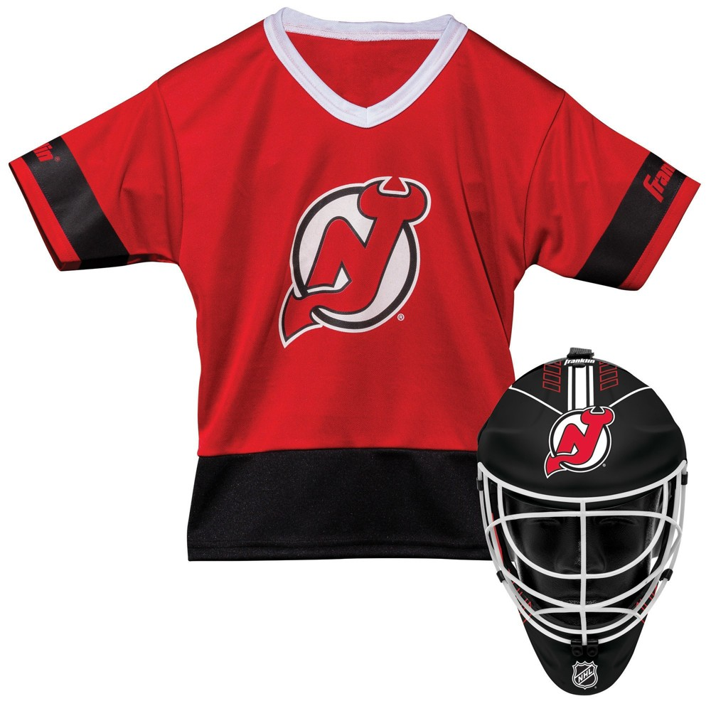 New Jersey Devils Franklin Sports Youth Team Uniform Set, Kids Unisex