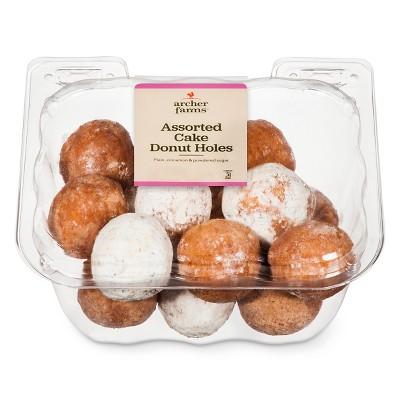 Assorted Cake Donut Holes - Archer Farms™