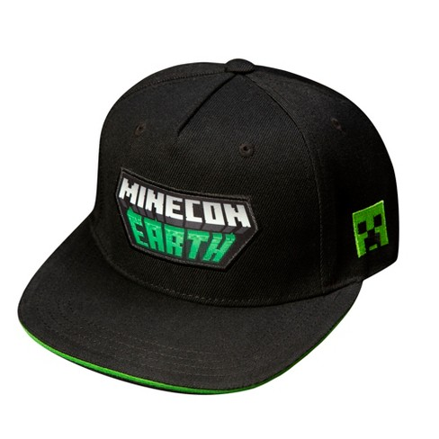 Minecraft MineCon Earth Youth Snap Back Hat