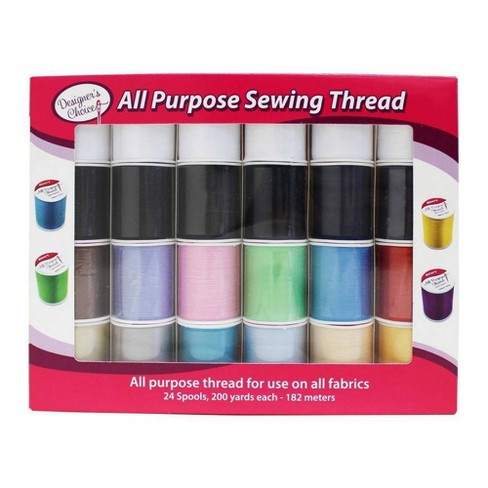 Allary 24pc Designer's Choice All Purpose Sewing Thread - image 1 of 1