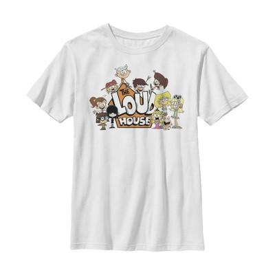 Boy's The Loud House Family Logo T-Shirt