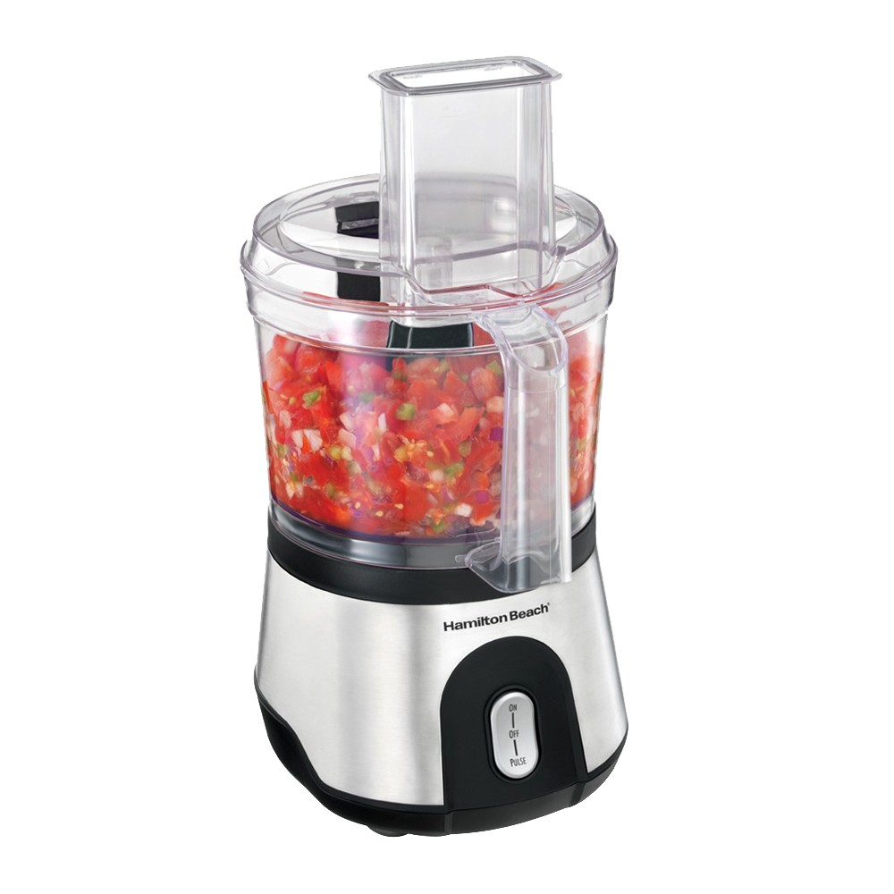 Hamilton Beach 10 Cup Food Processor- Stainless 70760, Stainless/Black 11893663