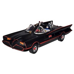 """DC Comics Batman Classic TV Series Batmobile, 3"""" Batman and Robin Action Figures"""