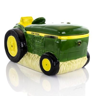 John Deere 10.5 Inch Stoneware Tractor Cookie Jar
