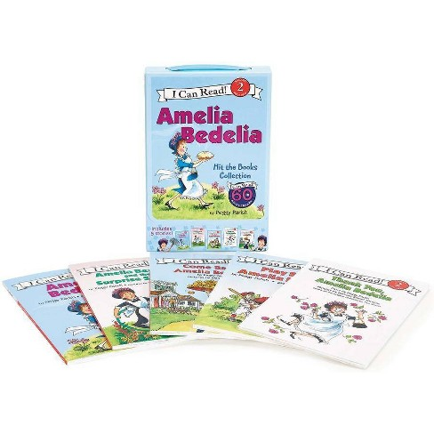Amelia Bedelia I Can Read Box Set #1: Amelia Bedelia Hit the Books - (I Can Read Level 2) (Paperback) - image 1 of 1
