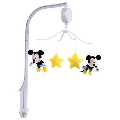 Lambs & Ivy Forever Mickey Mouse Musical Baby Crib Mobile