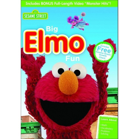 Sesame Street Big Elmo Funmonster Hits Dvdvideo Target