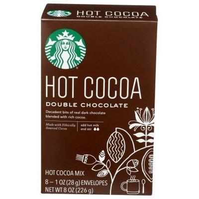 Starbucks Double Chocolate Hot Cocoa Mix - 8ct