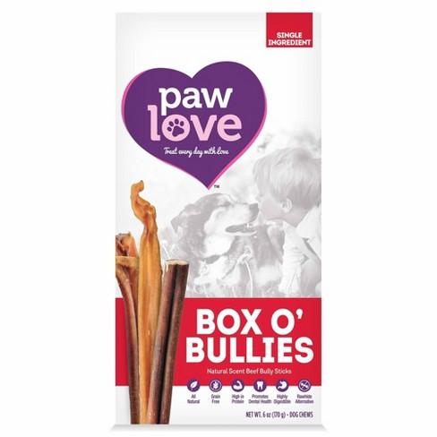 Paw Love Box O' Bullies Bully Sticks - 6oz - image 1 of 4
