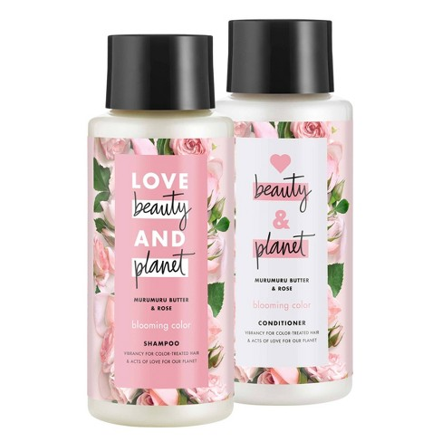 Love Beauty and Planet Muru Muru and Rose Shampoo and Conditioner - 2pk/13.5 fl oz - image 1 of 4