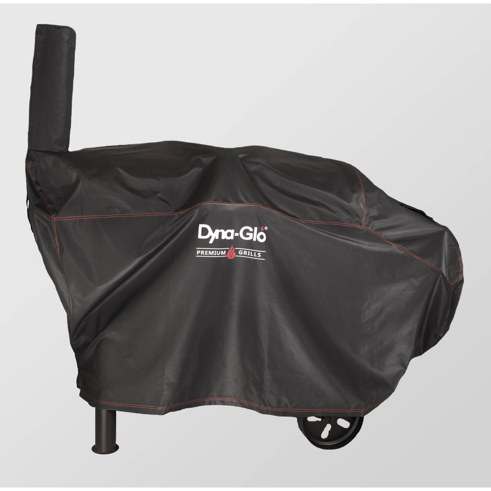 Barrel Charcoal Grill Cover Black - Dyna-Glo