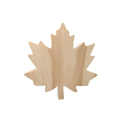Wooden Maple Leaf Craft Activity - Hand Made Modern® - image 1 of 2