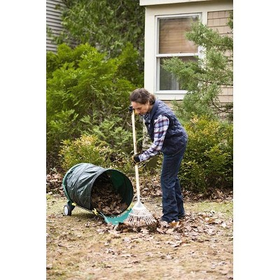 Mobile Leaf Collector Caddy - Gardener's Supply Company