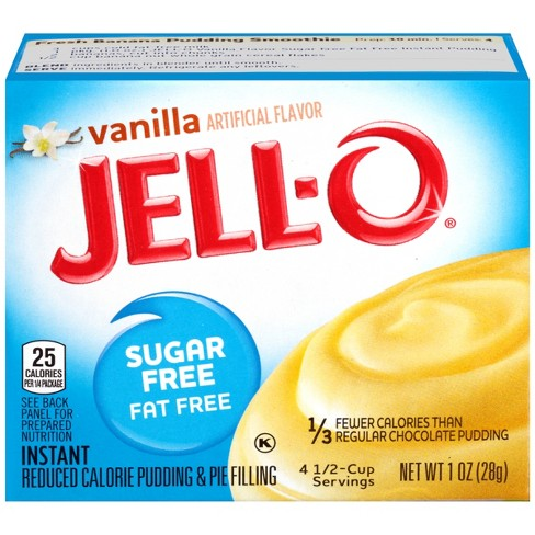 Jell-O Instant Sugar Free Fat Free Vanilla Pudding & Pie Filling -1oz - image 1 of 3