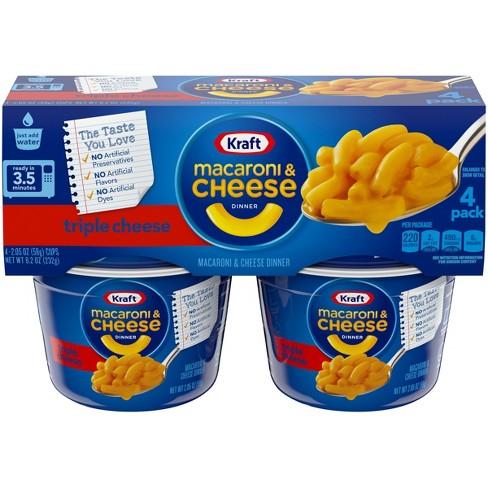 Triple Cheese Macaroni Dinner