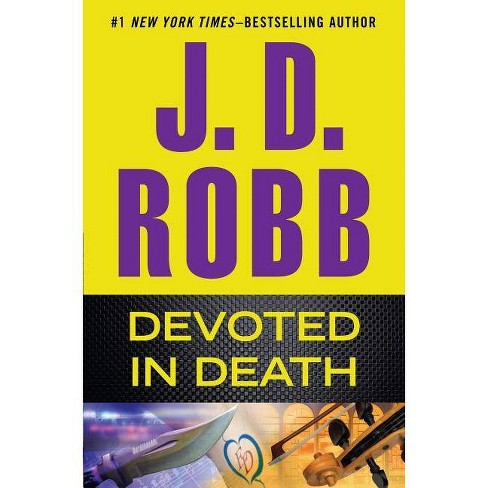 Devoted in Death - Large Print by  J D Robb (Paperback) - image 1 of 1